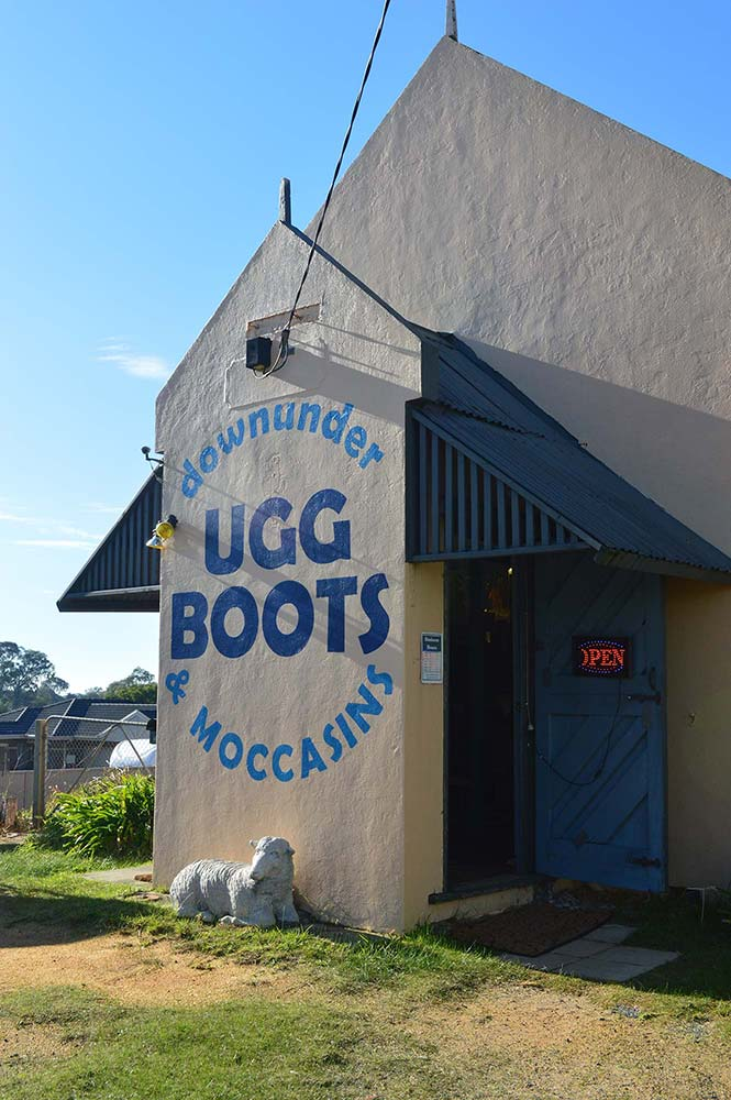 oldest ugg boots shop in the world