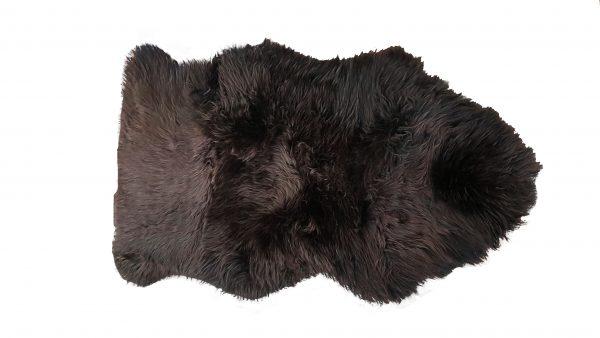 ANL Long Wool Rug chocolate