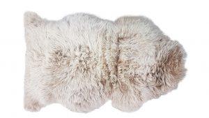 ANL Long Wool Rug caramel