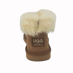 Uggies Slipper chestnut back