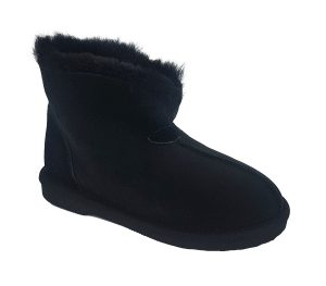 Uggies Slipper black unrolled