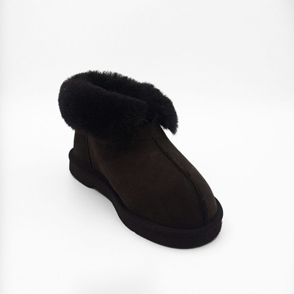uggies slipper choc rolled