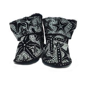 Imosh Baby Booties black star
