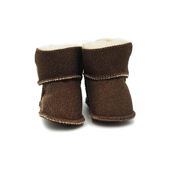 Imosh Baby Booties small leopard