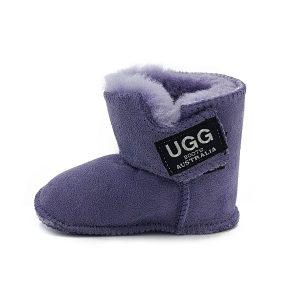 Imosh Baby Booties lilac side