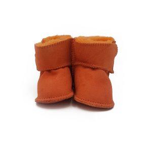 Imosh Baby Booties orange