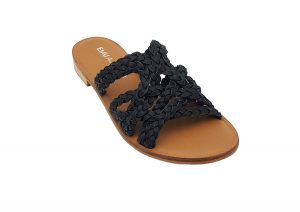 emu australia wier sandal black side view