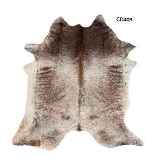 Large Salt and Pepper Cow Hide CD403