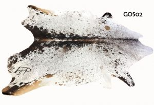 Large Salt and Pepper Cow Hide GOS02