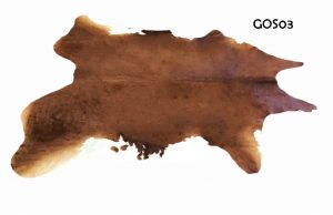 Large Brown and White Cow Hide GOS03