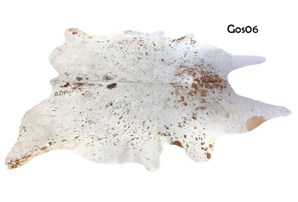 Large Brown and White Cow Hide GOS06