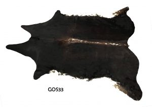 Large Dark Cow Hide Gos33