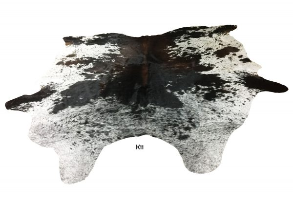 Large Salt and Pepper Cow Hide