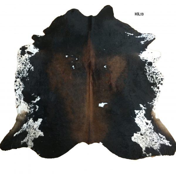Large Dark Exotic Cow Hide
