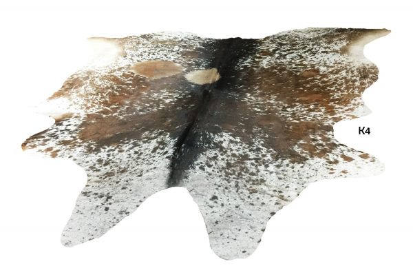 Large Salt and Pepper Cow Hide K4