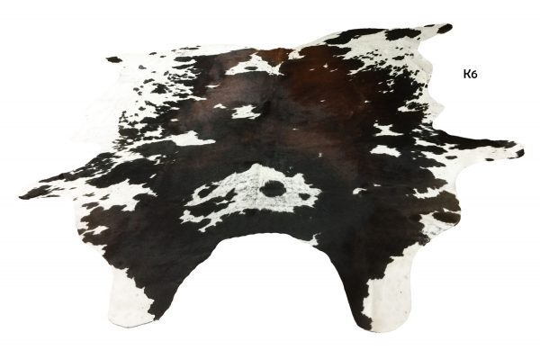 Large Brown and White Cow Hide