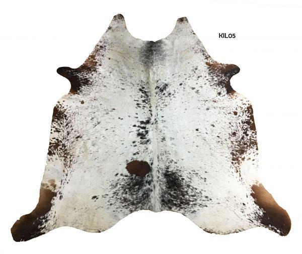 Large Salt and Pepper Cow Hide KIL05
